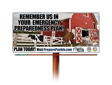 Animal Preparedness Billboard