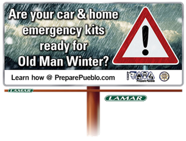 Winter Ready Billboard