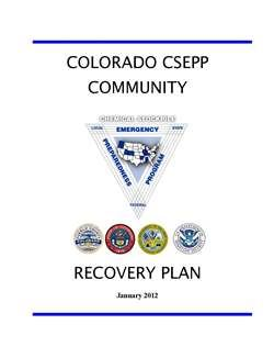 Community Recovery Plan (PDF) Opens in new window